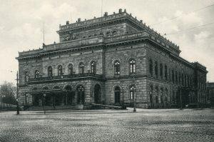 Das Braunschweigische Hoftheater um 1900