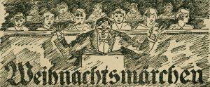 Rudolf Hartung dirigiert sein Weihnachtsmärchen