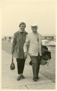 Elisabeth und Rudolf Hartung reisten viel gemeinsam
